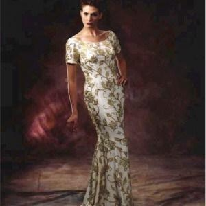 Short Sleeve Mother Of Bride Evening Gowns Darius Cordell