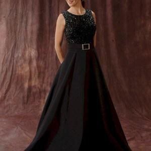 Long Black Ball Gowns For Mother Of Bride Darius Cordell