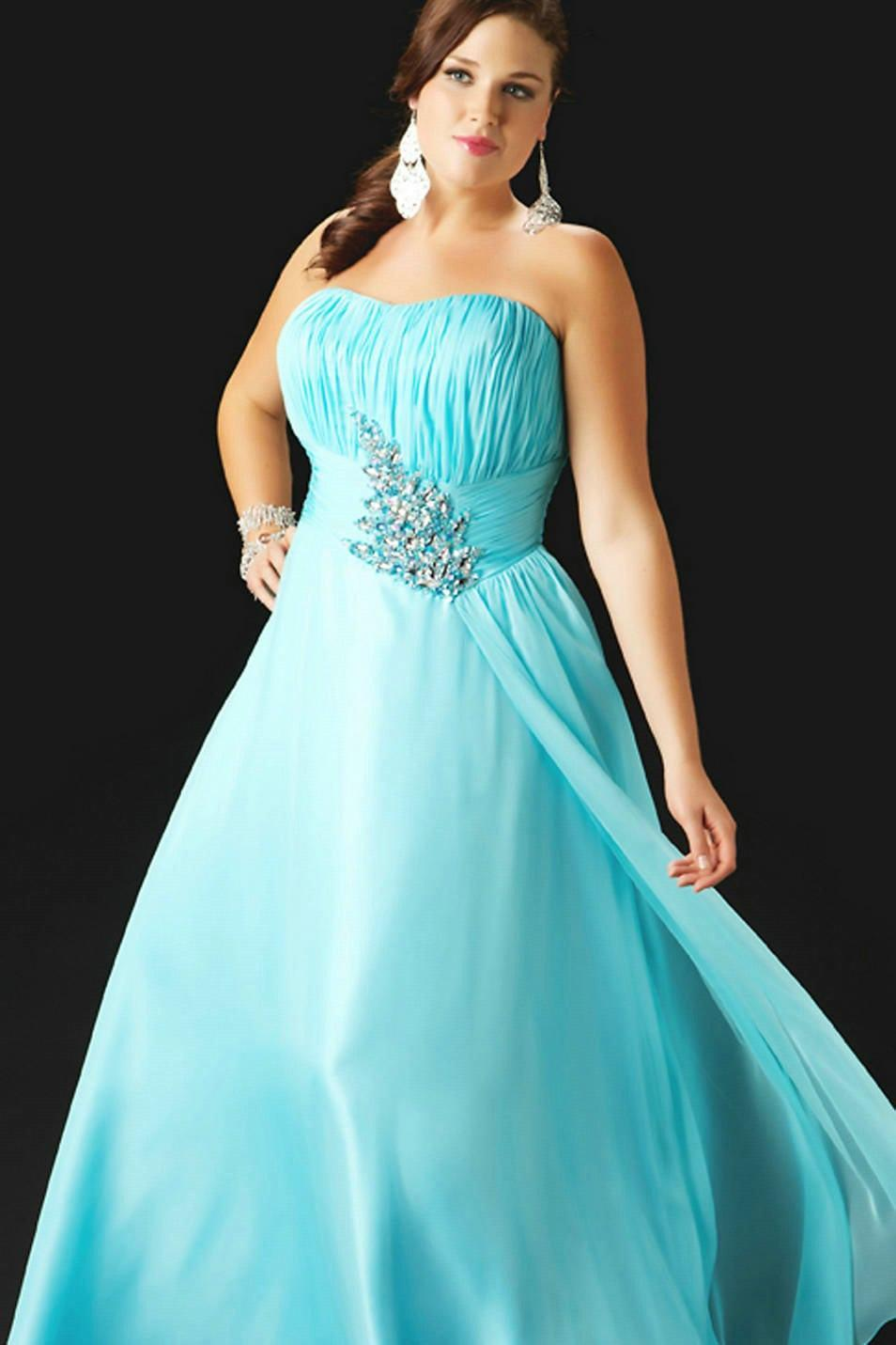 Plus Size Ball Gowns Prom Dresses - Long Dresses Online