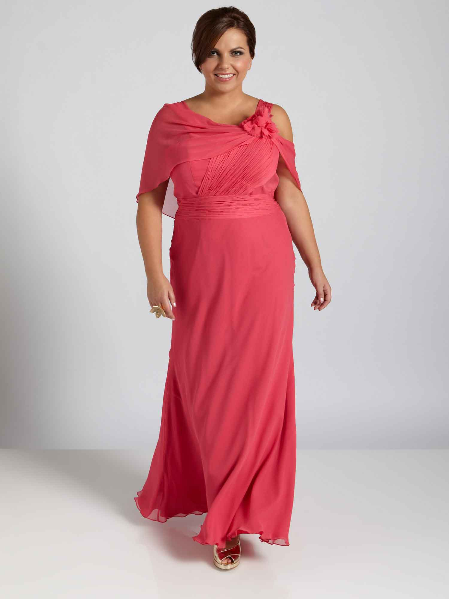 Plus Size Evening Wear Mother Of The Bride Cocktail Dresses