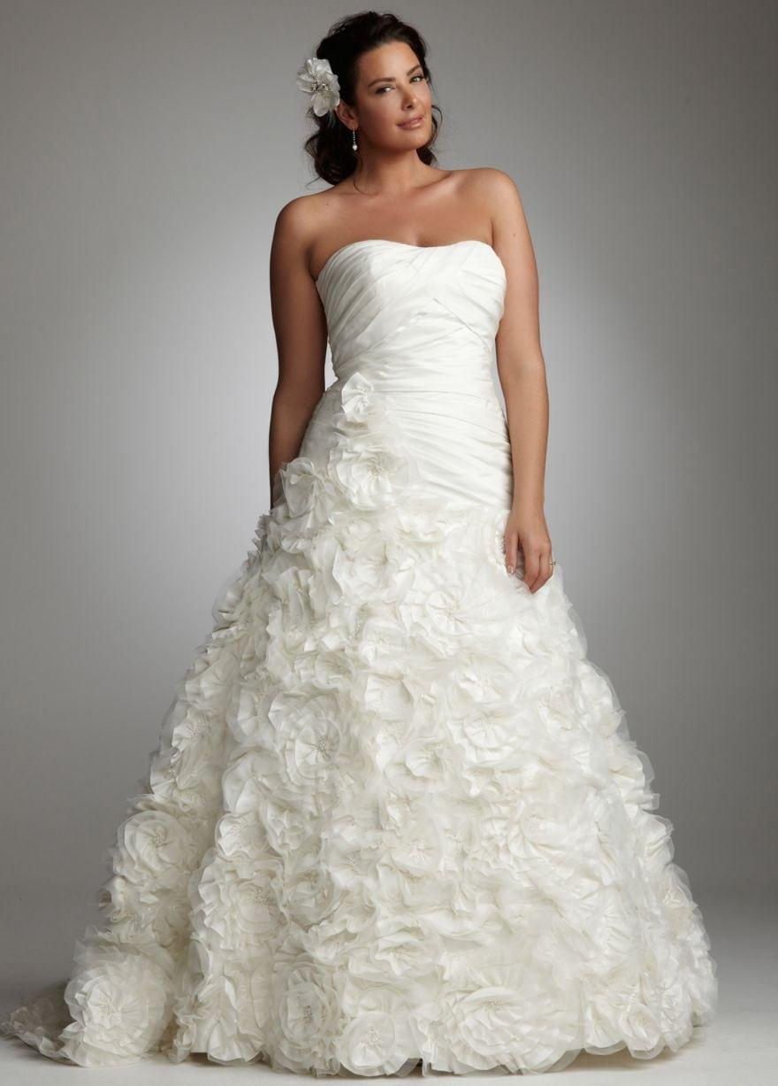 5 Styles Of Plus Size Wedding Dress