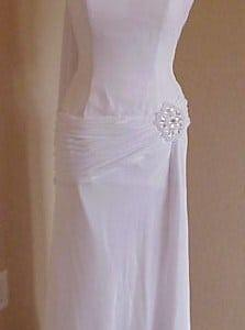 White Formal Wear Dresses