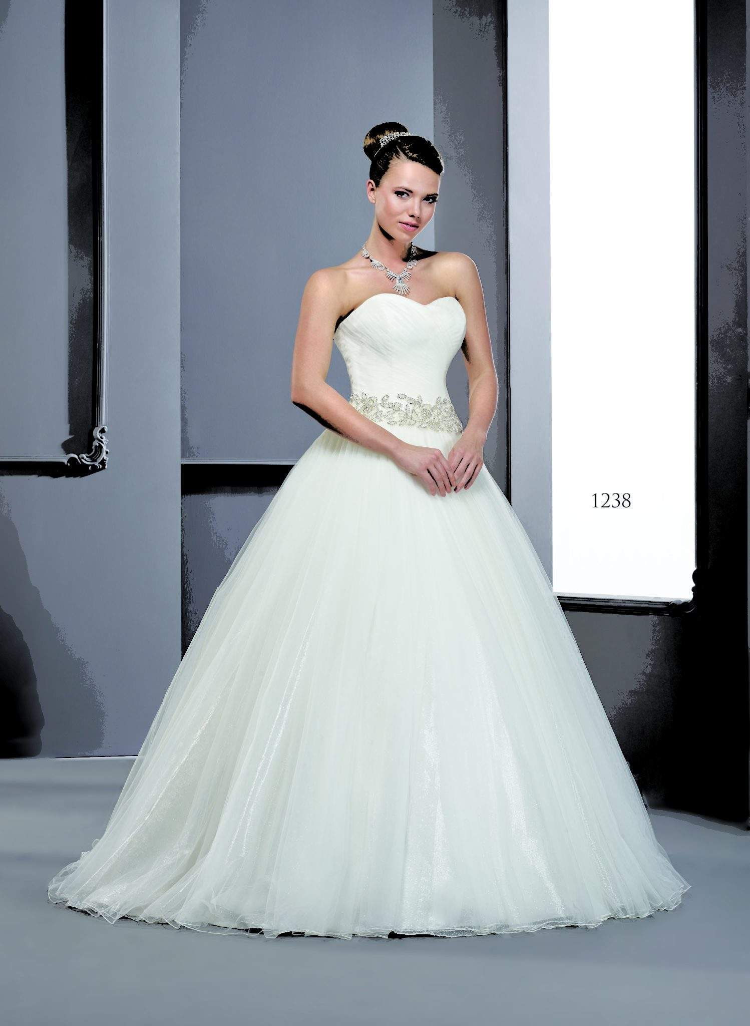 Organza ball gown Wedding Dresses - Darius Cordell Fashion Ltd