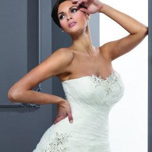 Style T1245 - Strapless A-Line Wedding Gowns