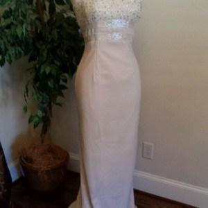 Strapless Formal wedding Wear