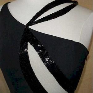 #2008 - Black Formal Wear Dress Designs