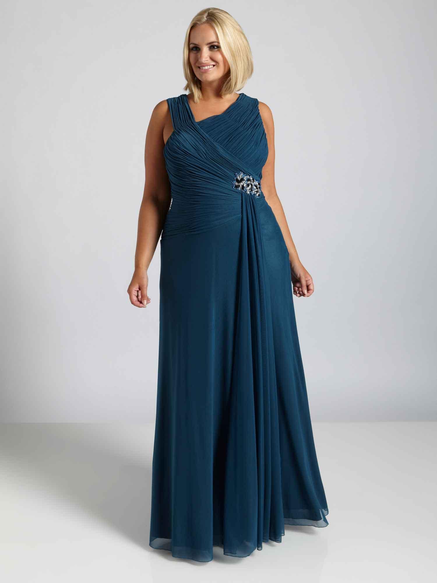 Ärmellose Abendkleider in Übergröße - Darius Cordell Fashion Ltd