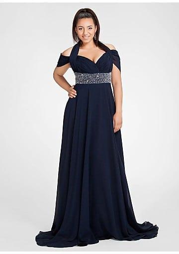 Short Sleeve Plus Size Evening Dresses Darius Designs