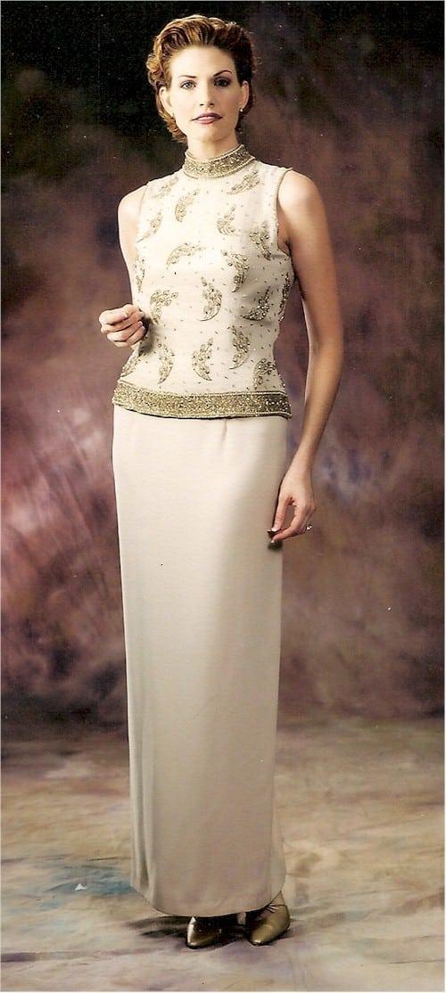 Ärmellose Kleider für Mutter der Braut aus der Darius Collection