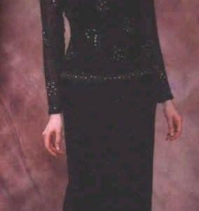#2096ls - black long sleeve mother of the bride dresses by Darius Cordell Fashion Ltd