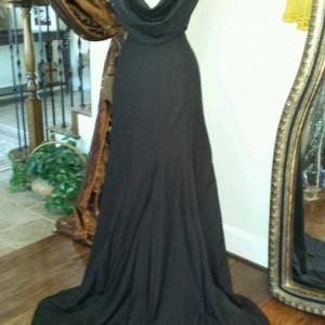 cowl back formal dresses