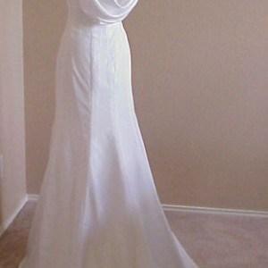white full length formal dresses
