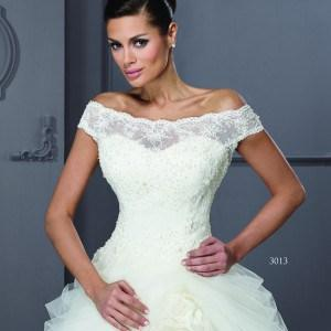 Style T3013 - off the shoulder bridal gowns