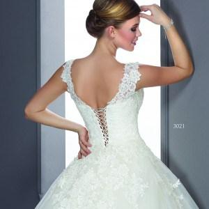 Wedding dresses with lace up back
