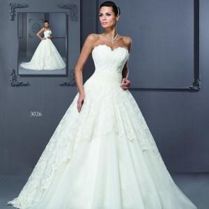 Sweetheart neckline Bridal Gowns