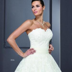 Style T3026 - Custom Sweetheart A-Line Bridal Gowns