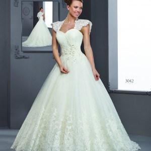 Cap Sleeved Bridal Gowns