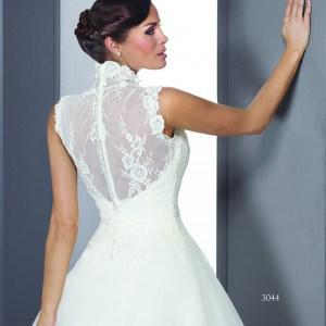 Closed back Wedding Gowns