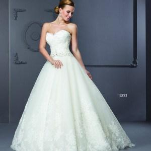 strapless bridal dresses