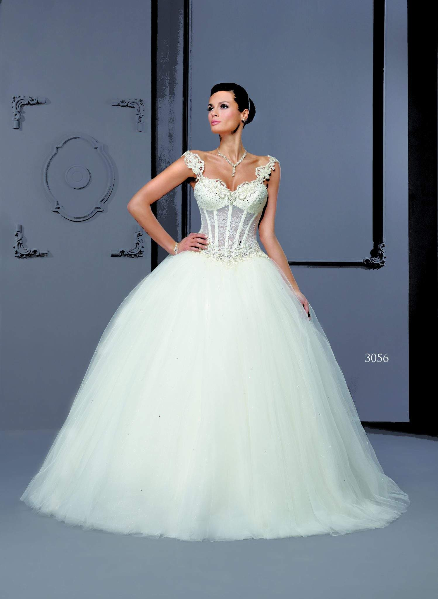 Corset Bridal Gowns - Darius Cordell Fashion Ltd