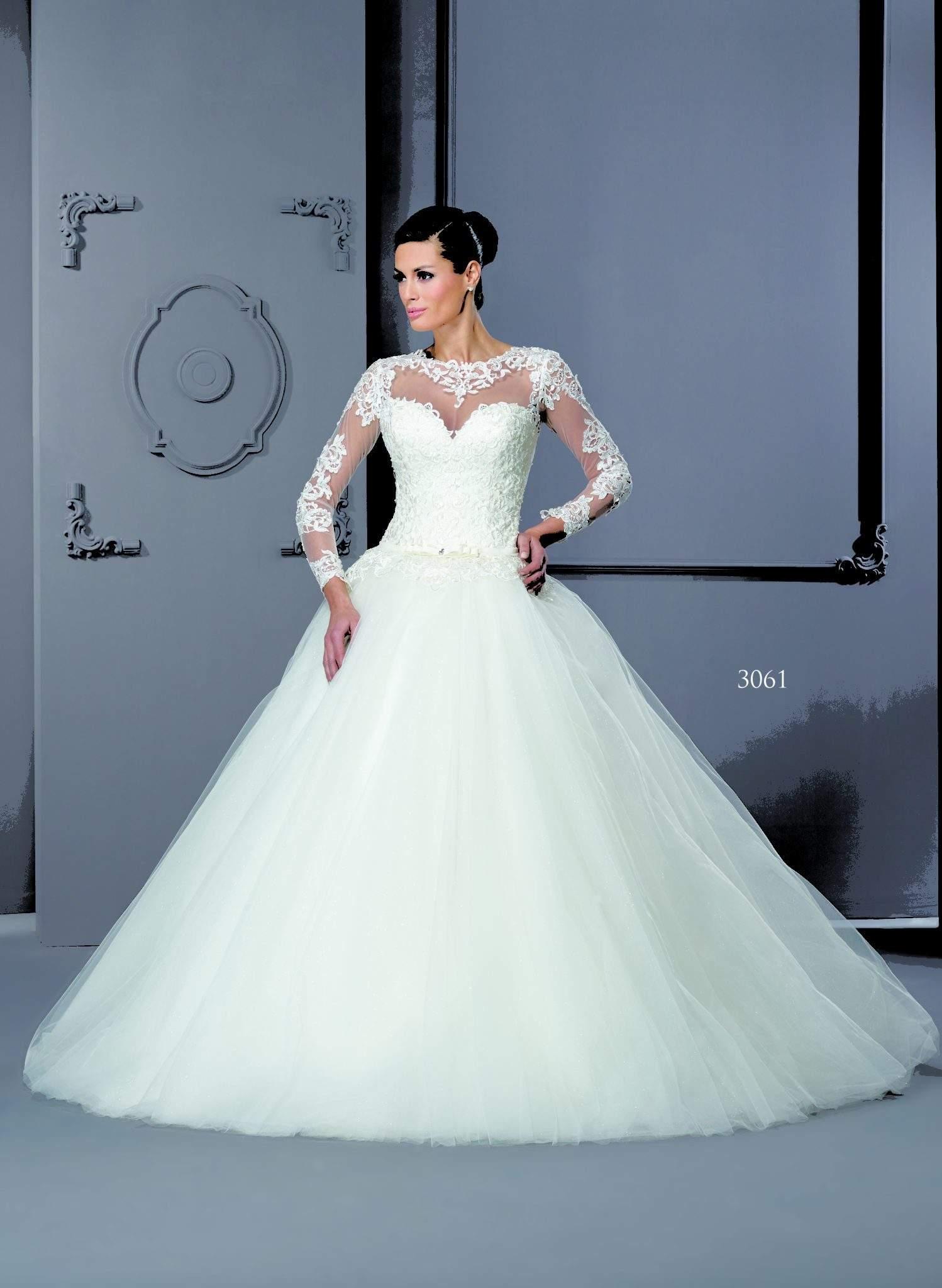 Long Sleeve Church Wedding Dresses - Darius Cordell Fashion Ltd