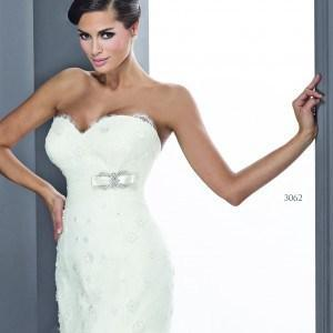 Style T3062 Lace up Back Designer Wedding Gowns