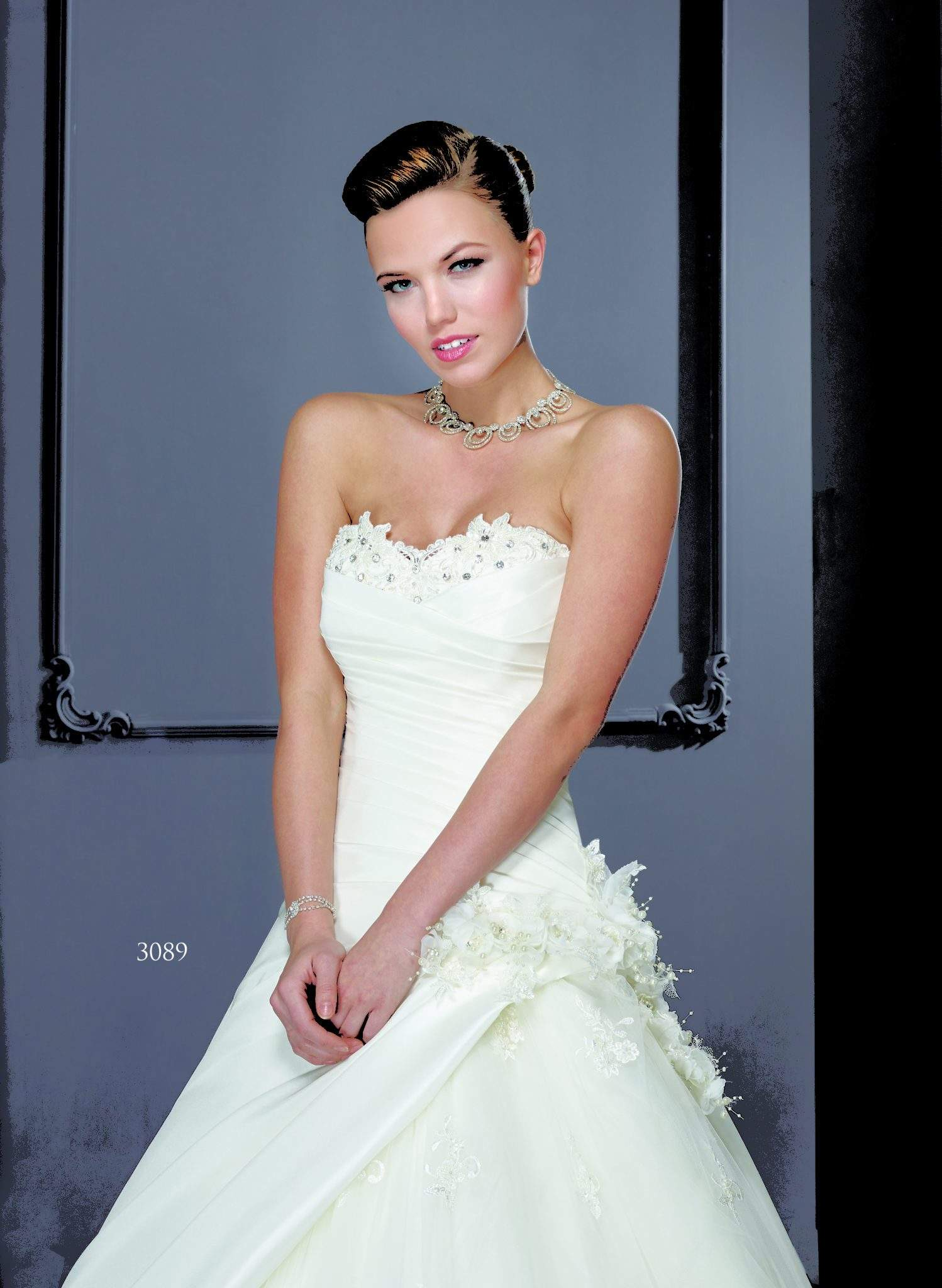Silk flower wedding gowns darius cordell fashion ltd strapless flower wedding dresses ombrellifo Choice Image