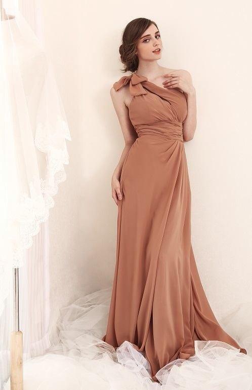 One Shoulder Evening Gowns - Darius Cordell Fashion Ltd
