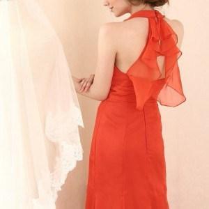 red halter dresses