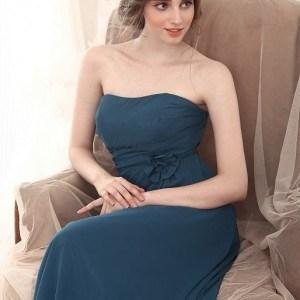 Dark Blue Bridesmaids Dresses