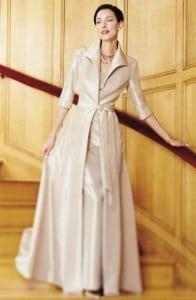 Mother of The Bride evening Dresses with Long Jackets