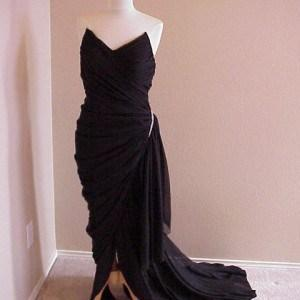 noodle strap pageant gowns