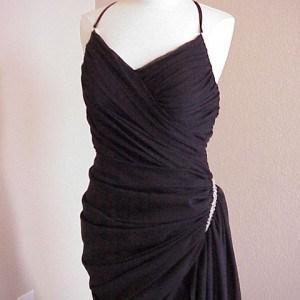 #5003 - Black Evening Wear