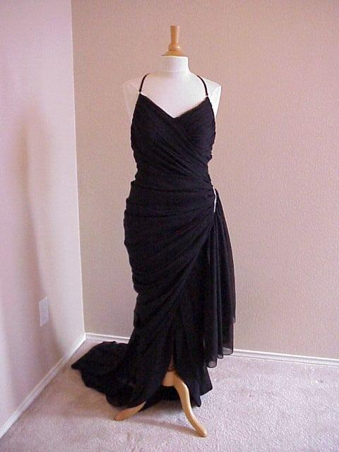 Elegant and Simple Black Evening Dresses from Darius Cordell