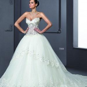 Layered Designer Wedding Dresses