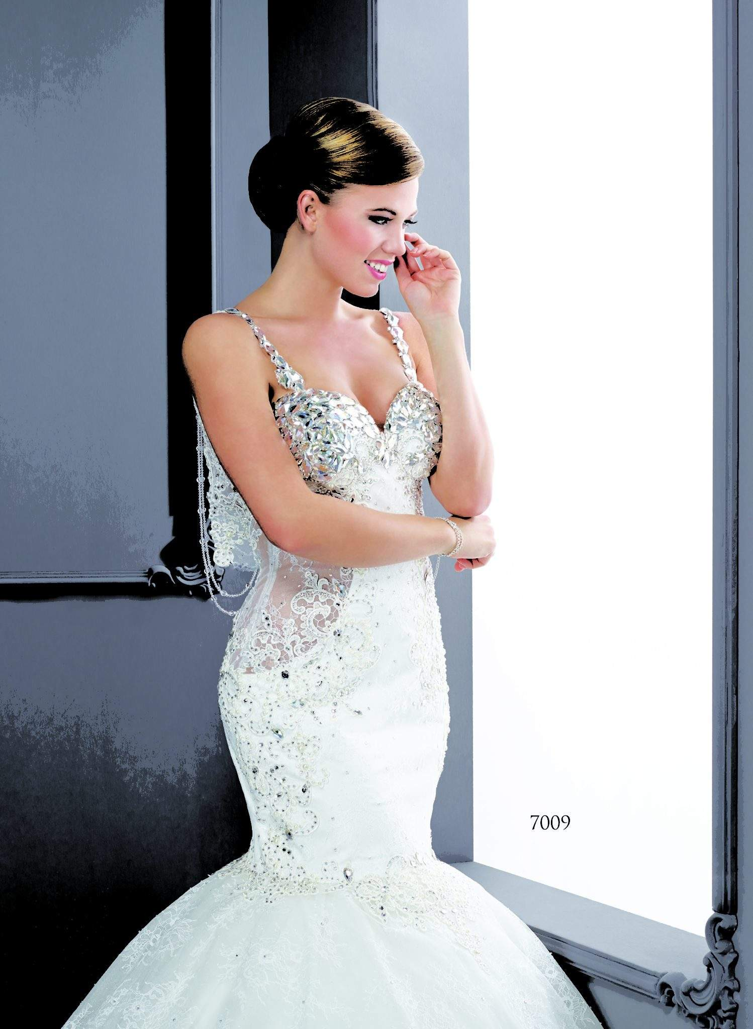 858a4ef9d3480b Silk Bridal Gowns with Swarovski Crystals - Darius Cordell Fashion Ltd