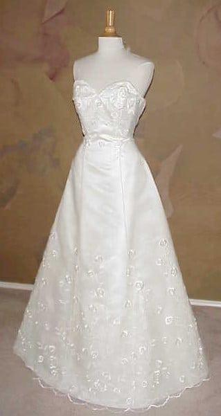Embroidered Informal Wedding Dresses by Darius Bridal