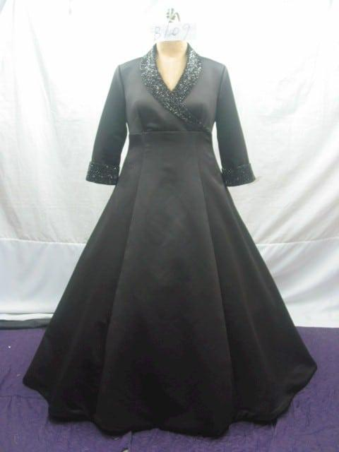 Plus Size Ball Gowns - Long Sleeve Formal Wear - Darius Designs