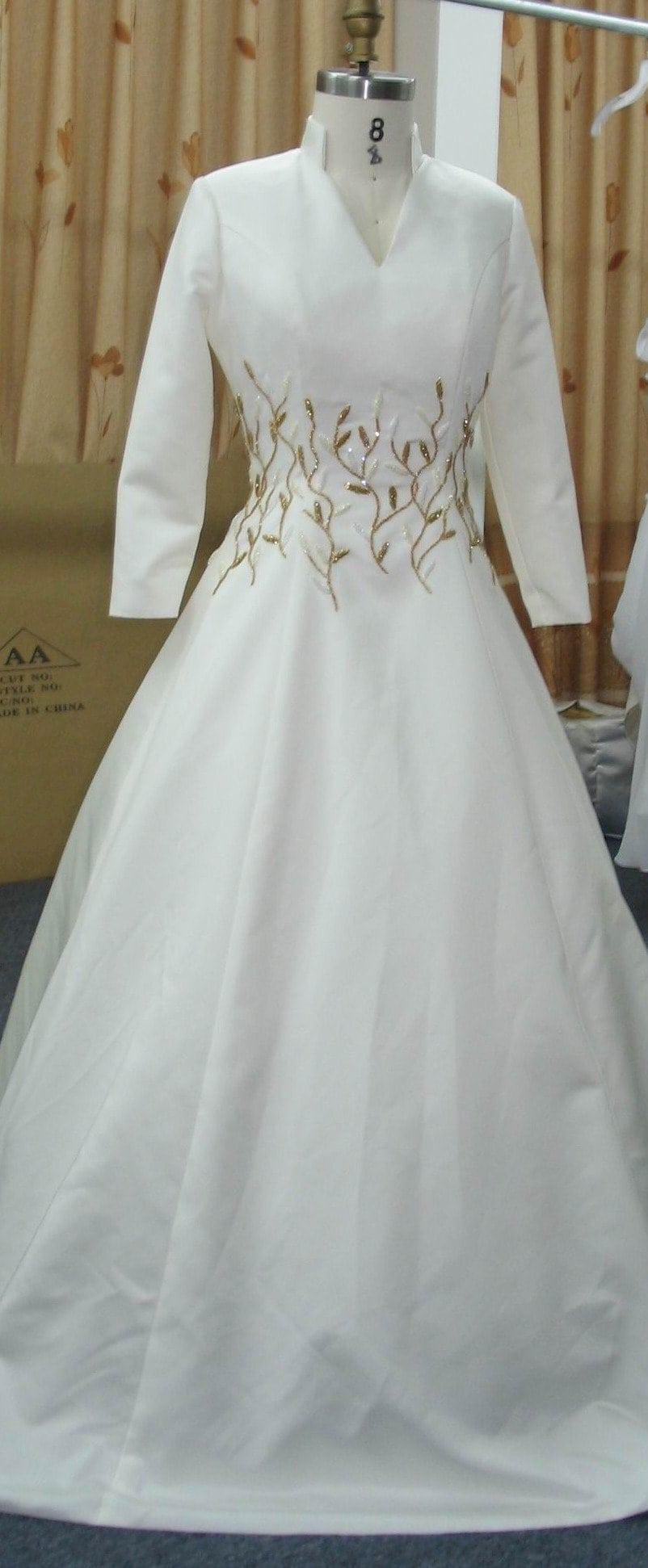 Long Sleeve Military Ball Gowns -Plus Size Formal Gowns