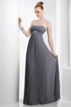 crinkle chiffon evening dresses