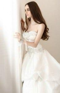 Wedding Dress Designers of Ruched Bridal Gowns