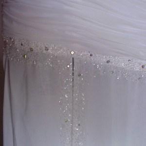 Formal wedding dress from Darius Cordell