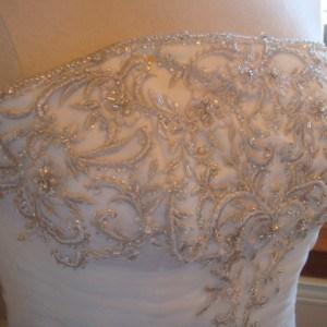 Silver Thread Embroidery