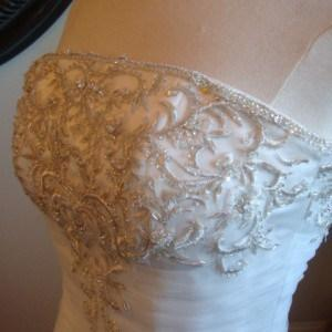Style D2012 - Strapless Petite Plus Size Bridal Gowns