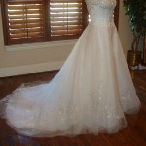 Strapless Petite Bridal GOwns