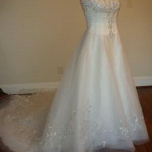 petite organza wedding gowns