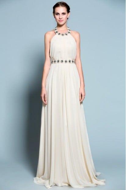 Beaded Halter Formal Dresses Halter Gowns From Darius Customs