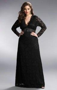 Black Long Sleeve Formal Dresses