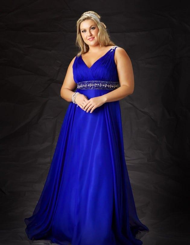 Empire Waist Plus Size Pageant Dresses - Darius Cordell Fashion Ltd