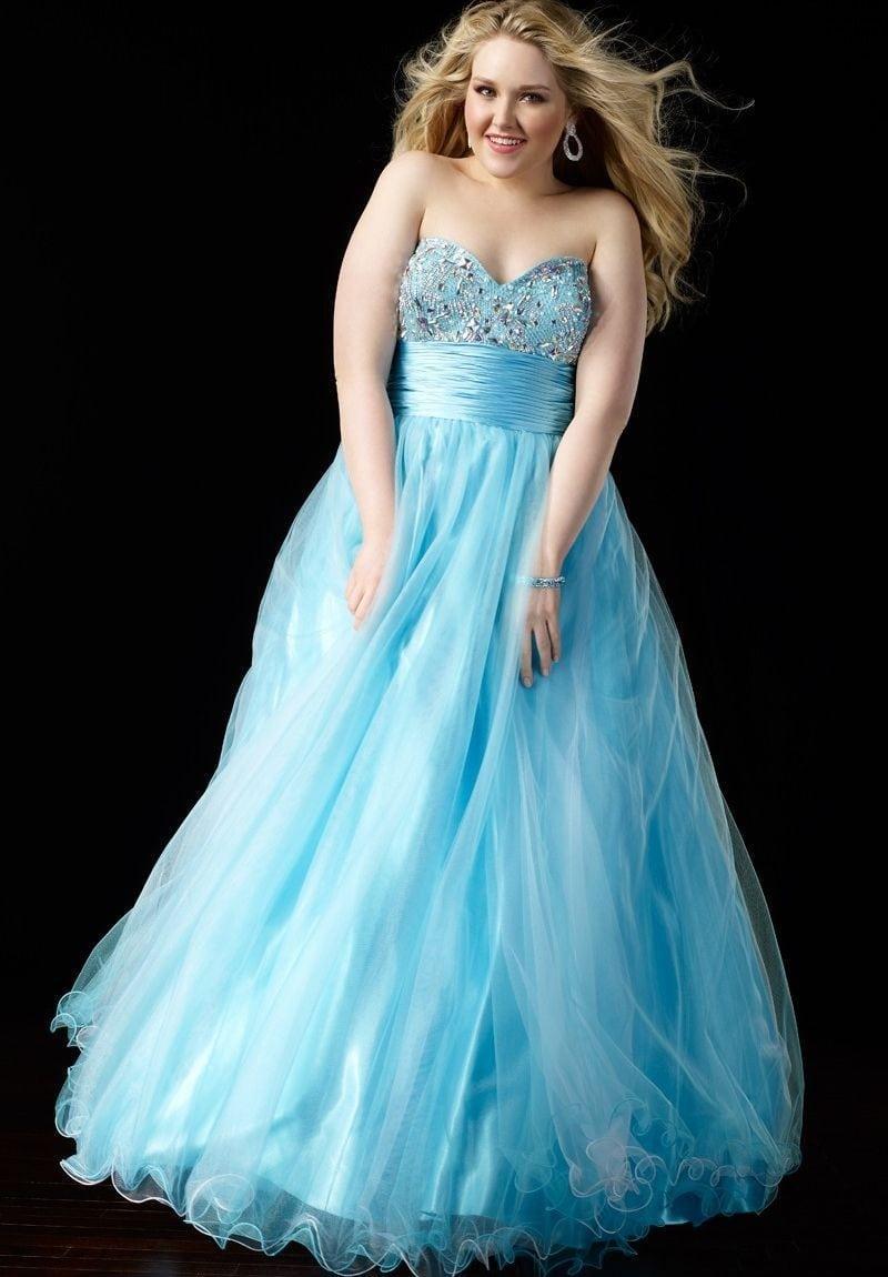 Plus size Formal dresses for prom - Darius Cordell
